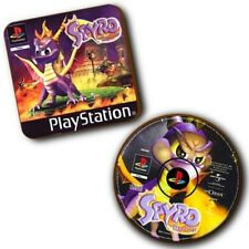 Spyro The Dragon PlayStation PS1 Box Art + Disc Art - Wood Coasters - Set Of 2