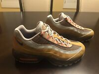 New Nike Air Max 95 Wheat Brown Sneaker Shoes Size US 9