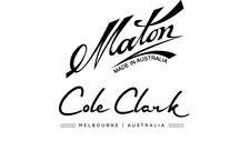 MATON cole clark ELECTRIC GUITAR Acoustic Guitar DECAL LOGO STICKER125 x 70 mm