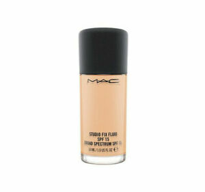 New MAC Studio Fix Fluid Make-Up Foundation NW41, SPF/LSF 15, NP €36