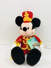 Disney Macy's Bandleader Mickey Mouse Strike Up Holidays Plush & Recorder