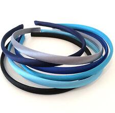 Accesorios de color principal azul para el cabello de niña