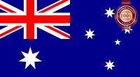NEW AUSTRALIAN FLAG AUS AUSSIE DIFFERENT SIZES LAMINATED OP PRINT PREMIUM POSTER