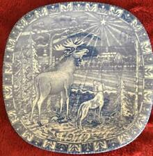 RORSTRAND SWEDEN JULEN 1974 LIMITED EDITION CHRISTMAS PLATE