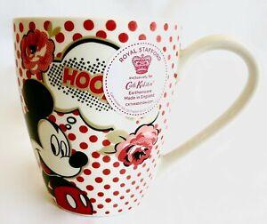 Cath Kidston Disney Mickey Mouse Mug Hooray 90th Anniversary Birthday Red Spot