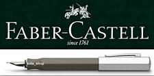 Faber-Castell ONDORO Füllfederhalter F Füller graubraun *!bestprice!* UVP 110€