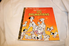 Collectible A Little Golden Book  101 Dalmations Walt Disney 1991 105-84