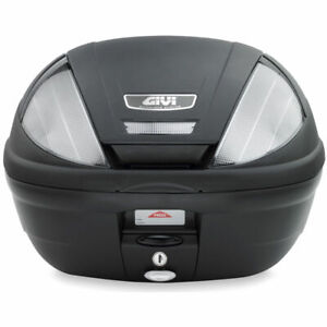 Givi E370 NT Tech Motorcycle Scooter Top Box Luggage Case 39L & Free Base Plate