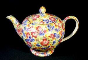 Beautiful Royal Winton Grimwades Chintz Royalty Teapot