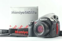 【MINT Lens & NEAR MINT Body in BOX】 Mamiya 645 AFD + AF 80mm f/2.8 From JAPAN