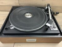 Vintage Benjamin Miracord ELAC 50H Auto Turntable Record Player 4 speed Read!