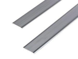 WPC Aluminium Decking & Wall Cladding Skirting Trim 55 x 3mm 2.2m length Edge