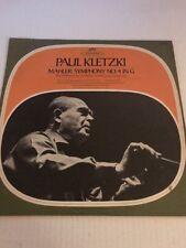 Mahler Symphony No. 4  Paul Kletzki /  Emmy Loose Seraphim S-60105 LP NM