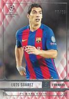 2016-17 Topps UEFA Champions League Showcase FC Barcelona Red Parallel /25