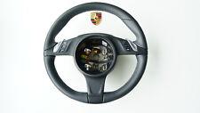 Porsche 991 981 970 Volante multifunción pdk Cuero Negro 99134780345 LK A7