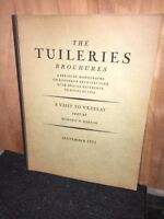 The Tuileries Brochures,Ludowici Celadon Co. September 1932