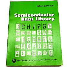 Motorola Vol 8/Ser A Semiconductor Data Library Linear Flip-Flops Mecl 1976 Book