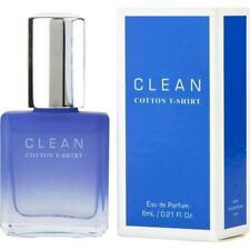 Clean Cotton T-Shirt For Women Eau De Parfum 6 ml / .21 oz Splash Travel Size