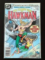 SHADOW WAR OF HAWKMAN #1 DC COMICS 1985 VF/NM NEWSSTAND EDITION
