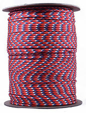 Bronco - 550 Paracord Rope 7 strand Parachute Cord - 1000 Foot Spool