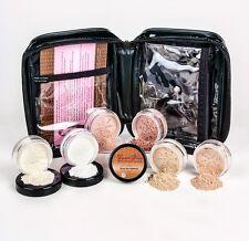 XXL Medium Kit w/ Case Full Size Mineral Makeup Set Blush Bare Skin Foundation