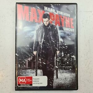 Max Payne Uncut DVD - Mark Wahlberg - Region 4 PAL - FREE TRACKED POST