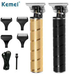 Electric Hair Clippers Cordless Waterproof Stainless Cutter Adjustable Clip Comb