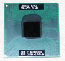 Intel Core2 Duo T7250 SLA49 Mobile CPU Processor Socket P 2.0Ghz 2MB 800MHz