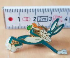 Pin Bugs Bunny blue, with carot, Warner-Bros.