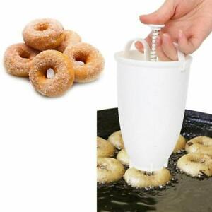 Doughnut Donut Maker Utensil Plastic Machine Manual Dispenser Kitchen Tools DIY.