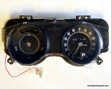 1970 Grand Prix Instrument Cluster Gauges RARE Speed Warning Low Fuel 69 GTO 70