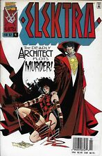 Marvel Elektra comic issue 4