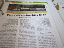 Modellbahn Schritt für Schritt 8 B Zugbildung Gec Post Expresszüge DR
