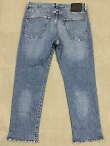 """LEVI STRAUSS MADE & CRAFTED BIG 'E' LEVI'S 502 JEANS Size Waist 33"""" LEVIS"""