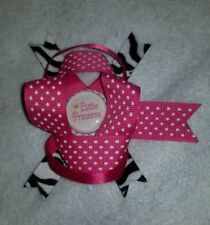"Girls Kids Hair Bow Ribbon Clip ""Little Princess"""