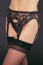 Leg Avenue Lace Glamour Suspender Belts for Women