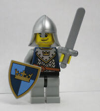 Crown Knight Chain Mail 7094 Fantasy Era Sword Shield Castle Lego Minifigure
