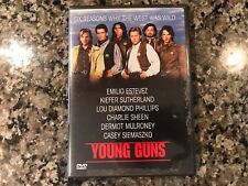 Young Guns Dvd! 1988 Thriller! Lawman The Way Stakeout The Outlaw Freejack