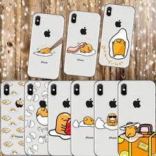 Cute Funny Gudetama Cartoon Egg Soft Silicone Case for iPhone 6 7 8 X XR XS MAX