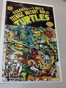 Teenage Mutant Ninja Turtles #15 (First Printing) 1988 Casey Jones High Grade
