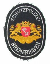 Germany Bremen Bremerhaven Polizei German State City Police Patch 60s RARE