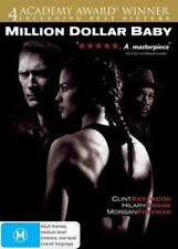 Million Dollar Baby DVD TOP 250 MOVIES CLINT EASTWOOD BEST PICTURE BRAND NEW R4