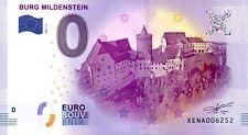 2017 ALLEMAGNE N°006252 - BURG MILDENSTEIN billet touristique souvenir 0 €