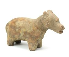 Thai Ayuthaya Pottery Bear animal circa 300yrs old. Authentic Thai antique. 17cm