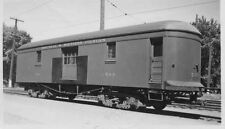 7C840 RP 1948 MONTREAL & SOUTHERN COUNTIES RAILWAY CAR #503 AT GRANBY