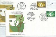 Recuento de leucocitos. - Naciones Unidas-First Day Covers Fdc - -031 - 1980-decenio para De mujer