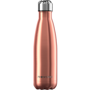 Proworks Stainless Steel Water Bottle Metal Vacuum Insulated Sports Drinks Flask