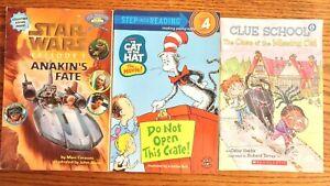 Lot of 3 Step 4 Level 4 Reading Books For Children Grades 2-4