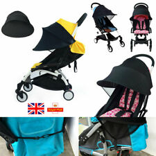 Universal Baby Child Pushchair Stroller Pram Buggy Sun Shade Canopy Cover Black
