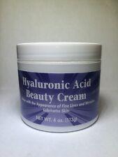 Hyaluronic Acid Beauty Cream 4 oz